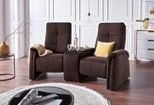 exxpo - sofa fashion 2-Sitzer braun
