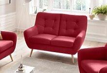 exxpo - sofa fashion 2-Sitzer rot