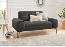 exxpo - sofa fashion 2-Sitzer schwarz
