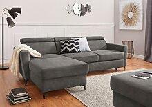 exxpo - sofa fashion Ecksofa B/H/T: 245 cm x 76