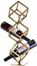 EYAMI Freistehender Weinständer - Platzsparender