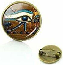 Eye of Horus Brosche Schmuck Weihnachtsgeschenke