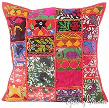 "Eyes of India 16"" Rot Patchwork Bunt"
