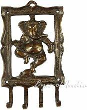 Eyes of India Messing Kamel, Fisch, Elefant, Ganesha, Pferd Dekorativ Animal Wandhaken Kleiderbügel Garderobe Bronze Antik Bohemian Boho indisch