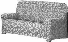 Eysa Over Sofa Überwurf 2 Sitzer Fb. 06-grau
