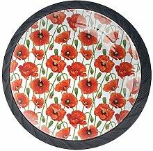 EZIOLY Blumenknöpfe, dekorative Knöpfe, Schrank,
