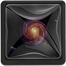 EZIOLY Drehbarer Cosmos Quadratische Küchengriffe