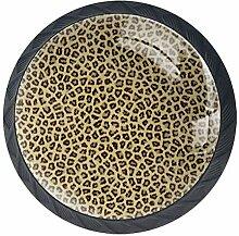 EZIOLY Küchengriff, Leopardenmuster, dekorative