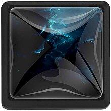 EZIOLY Nebula Quadratische Küchenknöpfe,