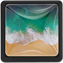 EZIOLY Seashore Quadratische Küchenknöpfe,