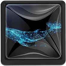 EZIOLY Starlight Whale Vector quadratische