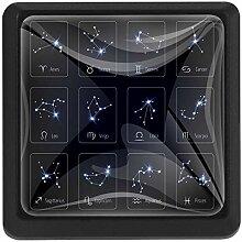 EZIOLY Sternzeichen Sterne Quadratische Küche