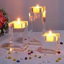 EZQYC Kerzenständer Teelichthalter Kerzenhalter