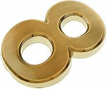 F Fityle 0-9 Hausnummer Türnummer Nummern Zahlen