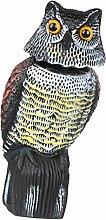 F Fityle Eule Figur Vogel Tierfigur Gartendeko
