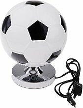F Fityle Fußballlampe Schreibtischlampe