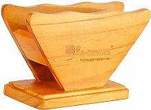 F Fityle Holz Filtertütenbehälter