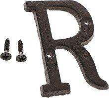 F Fityle Retro Gusseisen Buchstaben Alphabet DIY