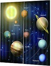 F Fityle Universum Planet Verdunkelungsvorhang
