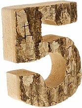F Fityle Vintage Holz 0-9 Anzahl Nummer Hausnummer