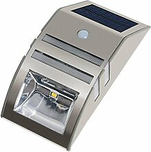 F Fityle Wandleuchte Solarlampe Bewegungsmelder