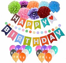 F.lashes Geburtstag Party Dekoration, Happy