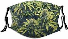 FA-Ce Mas-Ke Mund-Schutz Gesichtss-chutz Marihuana