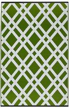Fab Hab - Dublin - Limettengrün & Weiß -