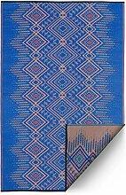 FAB HAB Hab - Jodhpur - Blau - Teppich/Matte für