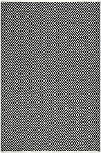 FAB HAB Hab Veria - schwarz/weiß Teppich aus