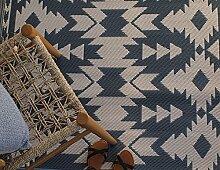 Fab Hab - Miramar - Grau - Teppich/ Matte für den
