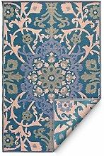 Fab Hab - Samarkand - Blau - Teppich/ Matte für