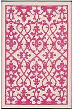 Fab Hab - Venice - Creme & Pink - Teppich/ Matte