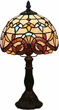 Fabakira Tiffany Glasmalerei Tischlampe pastoralen