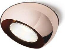Fabbian Tools - LED-Einbaustrahler kupfer