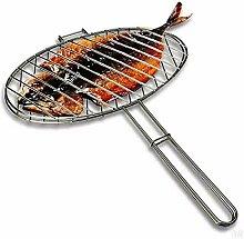 Fablcrew BBQ Grillfischklammer, Fischbräter mit