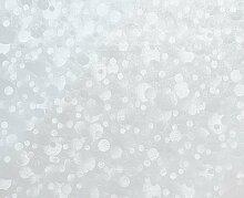 Fablon Klebefolie, 67,5 cm x 2 m, Tupfen Fenster, selbstklebend, Transparen