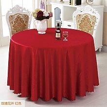 Fabric European Hotel Tischtuch/Einfache Und Moderne Tischdecke-A Durchmesser160cm(63inch)
