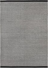 Fabula Living Balder Teppich 140x200 Schwarz/Grau