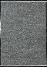 Fabula Living Daphne Teppich 170x240 Kohle/Weiß