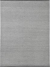 Fabula Living Erica Teppich 140x200 Kohle/Offwhite