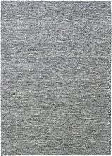 Fabula Living Gimle Schwarz/Elfenbeinweiß Teppich