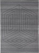 Fabula Living Gorm Teppich 140x200 Kohle (l) 200 X