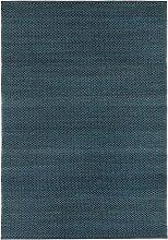 Fabula Living Myrtus Teppich 170x240 Midnight Blue