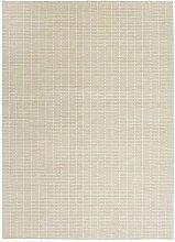 Fabula Living Tanne Beige/Elfenbeinweiß Teppich