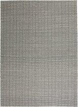 Fabula Living Tanne Grau/Weiß Teppich Small