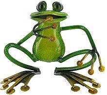Fabulous Entspannende grün Metall Garten Frosch