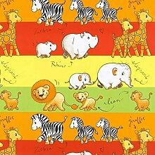 Fabulous Fabrics Baumwollstoff Safari 3 —