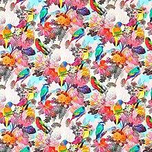 Fabulous Fabrics Cretonne Tropisch Vögel