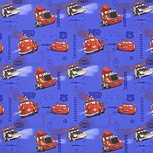 Fabulous Fabrics Disney Cars Boyfun 2 königsblau